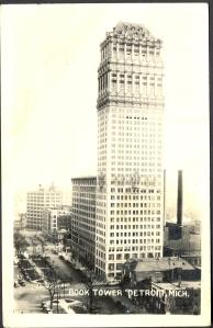 Detroit book tower